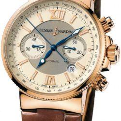 Ремонт часов Ulysse Nardin 356-66/354 Maxi Marine Chronograph RG в мастерской на Неглинной