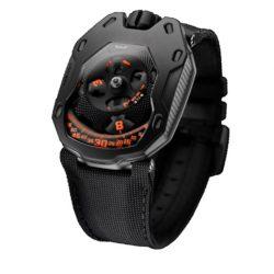 """Ремонт часов Urwerk UR-105 TA """"Clockwork Orange"""" UR-105 Self-winding в мастерской на Неглинной"""
