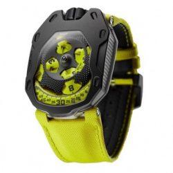 Ремонт часов Urwerk UR-105TA Black Lemon UR-105 Knight в мастерской на Неглинной