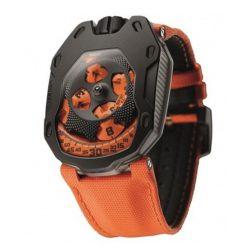 Ремонт часов Urwerk UR-105TA Black Orange UR-105 Knight в мастерской на Неглинной