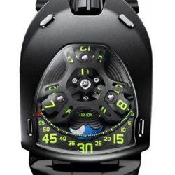 """Ремонт часов Urwerk UR-106 """"Only Watch"""" UR-105 Titanium Black PVD в мастерской на Неглинной"""