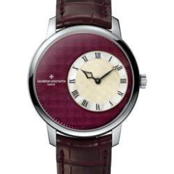 Ремонт часов Vacheron Constantin 1400U/000G-B215 Metiers D'Art Elegance Sartoriale в мастерской на Неглинной