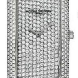 Ремонт часов Vacheron Constantin 25510/000G-9160 1972 Gran Curved Model Paved в мастерской на Неглинной