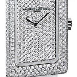 Ремонт часов Vacheron Constantin 25515/000G-9234 1972 Cambree Small Model Paved в мастерской на Неглинной