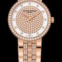 Ремонт часов Vacheron Constantin 25554/Q03R-9696 Traditionnelle Lady Traditionnelle Gold Bracelet Small Model Diamond Set в мастерской на Неглинной