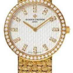 Ремонт часов Vacheron Constantin 25562/206J-9179 Patrimony Lady Classique Gold Bracelet Small Model Diamond Set в мастерской на Неглинной