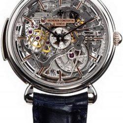Ремонт часов Vacheron Constantin 30030/000P-8200 Patrimony Cabinotiers Skeleton Minute Repeater в мастерской на Неглинной