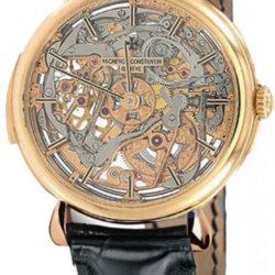 Ремонт часов Vacheron Constantin 30030/000R-8200 Patrimony Cabinotiers Skeleton Minute Repeater в мастерской на Неглинной