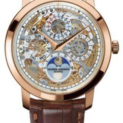 Ремонт часов Vacheron Constantin 43172/000R-9241 Patrimony Traditionnelle Skeleton Perpetual Calendar в мастерской на Неглинной