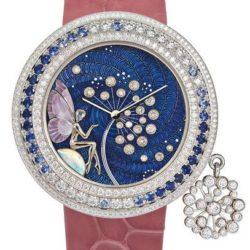 Ремонт часов Van Cleef & Arpels Charms Extraordinaire Féérie Dandelion Extraordinary Dials White Gold в мастерской на Неглинной