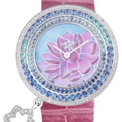 Ремонт часов Van Cleef & Arpels Charms Extraordinaire Lotus Extraordinary Dials White Gold в мастерской на Неглинной