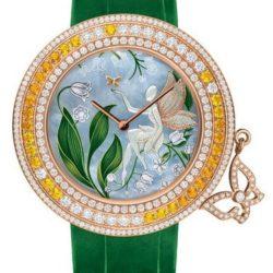 Ремонт часов Van Cleef & Arpels Charms Extraordinaire Muguet Extraordinary Dials Pink Gold в мастерской на Неглинной