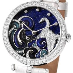 Ремонт часов Van Cleef & Arpels Cygnus Extraordinary Dials Les Cadrans Extraordinaires Extraordinary Presentation Case в мастерской на Неглинной
