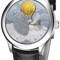 Ремонт часов Van Cleef & Arpels Five Weeks in a Balloon Black Poetic Complications White Gold в мастерской на Неглинной