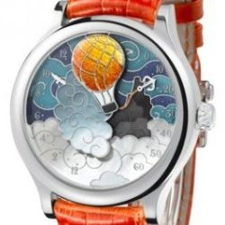 Ремонт часов Van Cleef & Arpels Five Weeks in a Balloon Orange Poetic Complications White Gold в мастерской на Неглинной