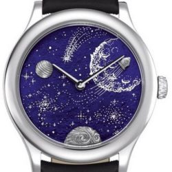 Ремонт часов Van Cleef & Arpels From the Earth to the Moon Extraordinary Dials Les Voyages Extraordinaires в мастерской на Неглинной
