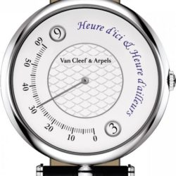 Ремонт часов Van Cleef & Arpels Heure d'ici & Heure d'ailleurs Mens Watches Pierre Arpels 42 мм в мастерской на Неглинной