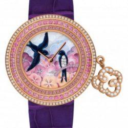 Ремонт часов Van Cleef & Arpels Hirondelles Extraordinary Dials Poetry of Time в мастерской на Неглинной
