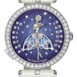 Ремонт часов Van Cleef & Arpels Lady Arpels Ballerine Enchantee Poetic Complications White Gold в мастерской на Неглинной