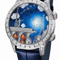Ремонт часов Van Cleef & Arpels Lady Arpels Blue Extraordinary Dials Poetic Wish в мастерской на Неглинной