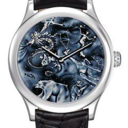Ремонт часов Van Cleef & Arpels Midnight Nuit Boréale Poetic Complications White Gold в мастерской на Неглинной