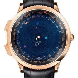 Ремонт часов Van Cleef & Arpels Midnight Planetarium Poetic Complications Pink Gold в мастерской на Неглинной
