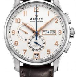 Ремонт часов Zenith 03.2072.4054/01.C711 Captain Winsor Annual Calendar Boutique Edition в мастерской на Неглинной