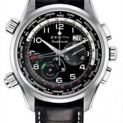 Ремонт часов Zenith 03.2400.4046/21.c721 Pilot Doeblematic в мастерской на Неглинной