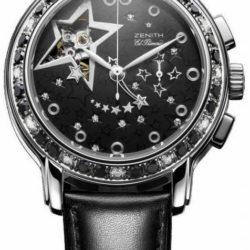 Ремонт часов Zenith 16.1231.4021/21.C626 Ladies Collection Star Open Glam Rock в мастерской на Неглинной