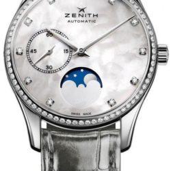 Ремонт часов Zenith 16.2310.692/81.C706 Ladies Collection Heritage Ultra Thin Moonphase в мастерской на Неглинной