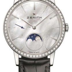 Ремонт часов Zenith 16.2320.692/80.C714 Ladies Collection Ultra Thin Moonphase в мастерской на Неглинной