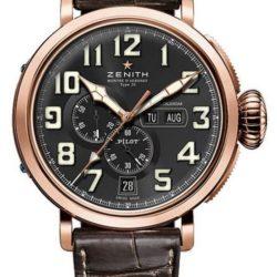 Ремонт часов Zenith 87.2430.4054/21.C721 Pilot Montre dAeronef Type 20 Annual Calendar в мастерской на Неглинной
