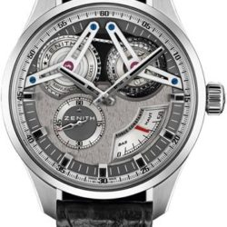 Ремонт часов Zenith 95.2260.4810/21.C759 Academy Georges Favre-Jacot Titanium в мастерской на Неглинной