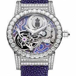 Ремонт часов deGrisogono TOURBILLON GIOIELLO S05 Tondo Purple в мастерской на Неглинной